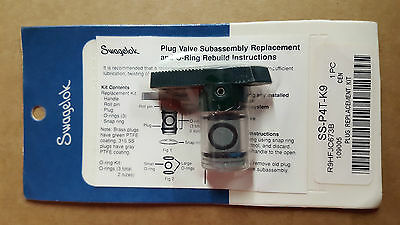 Pack of 20 Swagelok Plug Replacement Kit SS-P4T-K9 NIB Free Shipping!!