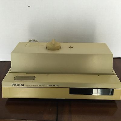 Panasonic Electric 3 Hole Punch KX-30P Commercial Grade With Tray