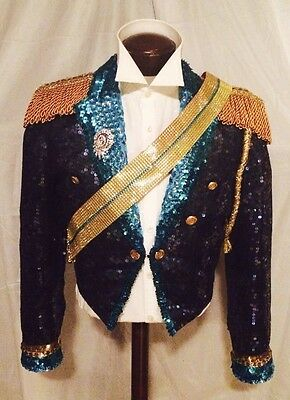 Michael Jackson 1984 Grammy Replica Jacket / Rare / Not Signed Worn Owned Fedora