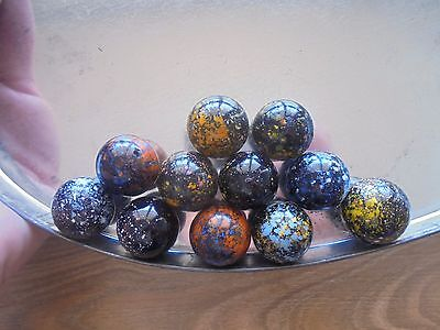 USED lot of 11 x 22mm marbles!_WOAH!!!!!!!!_ships from AUS!_xx79_A4a122