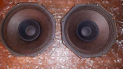 Pair of Philips AD7060/M5 Full Range Speakers  with Whizzer Cone