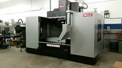 "WELE MODEL AA1880 VMC WITH 31.5""x71""x31.5"" TRAVELS, FANUC CONTROL, CTS, LOADED!"