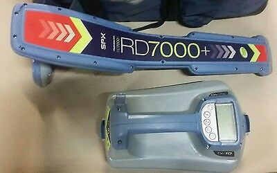 Radiodetection RD7000 TL  T 10 Cable Underground Wire Pipe Locator bag Excellent
