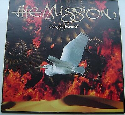 The Mission - Carved In Sand - 1990 UK Mercury 842 251-1 Original
