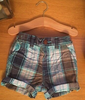 Next Shorts Size 9-12 Months