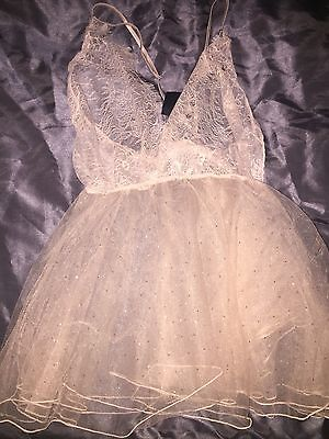 Ann Summers Babydoll Lingerie Lace M