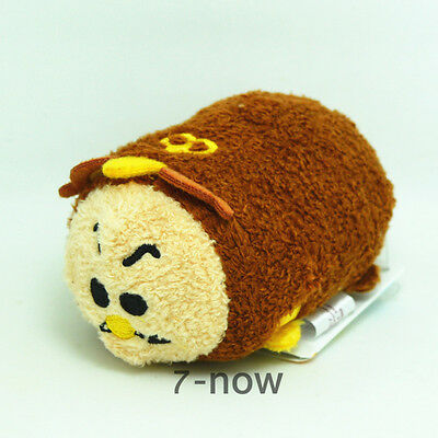 "Disney New Tsum Tsum 3 1/2"" mini Cogsworth Beauty and the Beast plush Toy Doll"