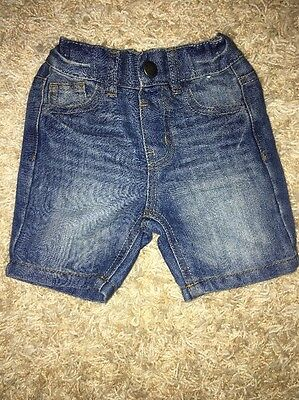 Primark Atmosphere Baby Boy Denim Shorts 9-12 Months