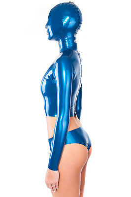 Latex Top mit Maske Rubber Top with Hood