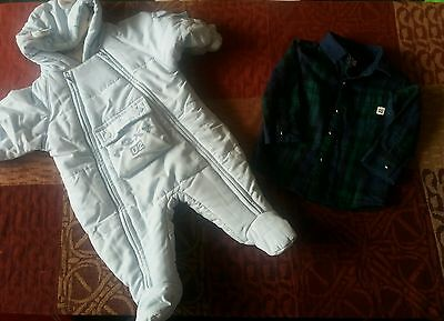 Baby boys 0-3 months bundle Next and River Island