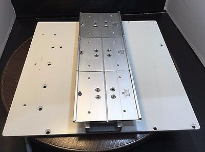 GCX MOUNTING PLATE DX0024X3A DX-0024 X3A W CHANNELS MEDICAL GRADE   kp