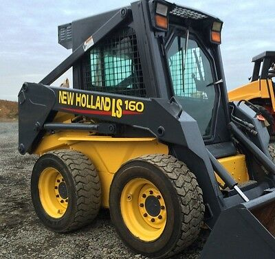 Newholland LS 160 LS160 Decal sticker kit USA Made quality kit New Holland