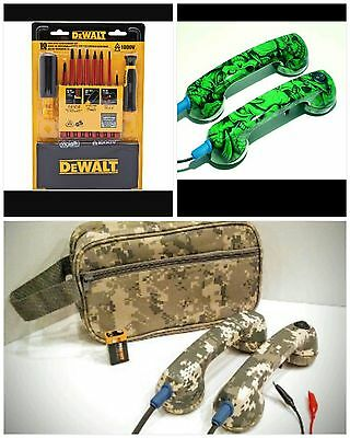 Loop Check, Continuity Test Phones &1000v Insulated Screwdriver Set