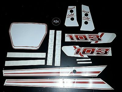 lot autocollants peugeot 103 rcx racing