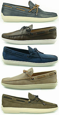 Tod's moccasin BOAT man shoes loafers herrenschuhe man mokassin