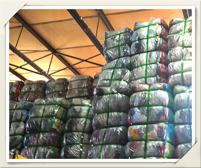 Wholesale Job Lot of 55 kilo clothes bales Used Ladies/Womens all top brands