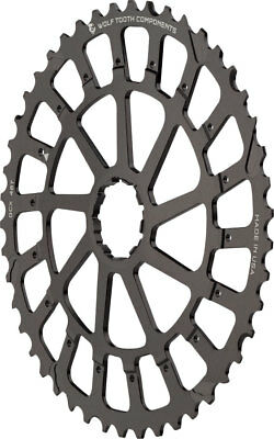 Wolf Tooth Components GCX XX1/X01 Replacement Cog 46T, Black