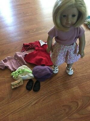 Kit American Girl Doll With Accessories Clothes Dress