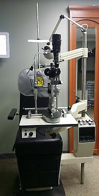Marco Optometry/Ophthalmology Exam Chair and Instrument Stand