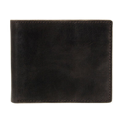 Fossil Anderson Men's Brown Small Bifold With Flip ID Wallet ML3705
