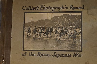 Collier's Photographic Record Of The Russo-Japanese War 1905 Reference Book