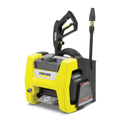 Karcher 1.106-113.0 K1700 Cube 1,700 PSI 1.2 GPM Electric Pressure Washer