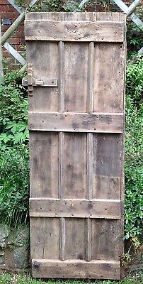 Old oak door reclaimed with great features