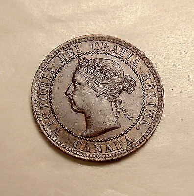 1901 Canada Large Cent - Better Date - Sharp Looking Coin