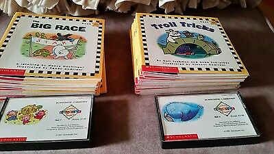 Scholastic Phonics Readers Tape Sets 7 and 8 Books 37-48