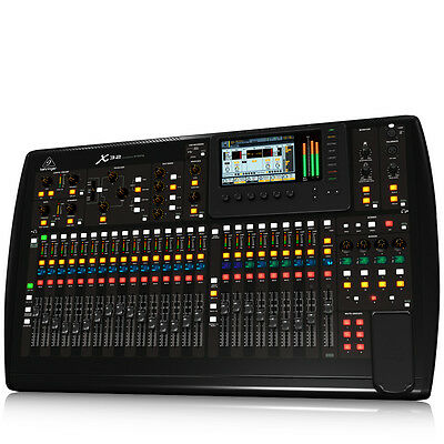 BEHRINGER X32 32-Channel Mixing Console 40-Input MIDAS USB Preamps FX EQ Remote