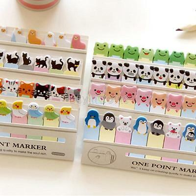 Animal Cute Joy Sticker Post It Bookmark Memo Marker Point Flags Sticky Notes
