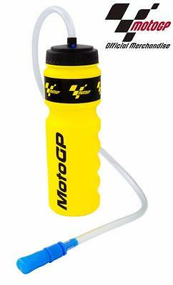 Moto GP Official Water Bottle Hydration Drink Straw Helmet Pit Lane