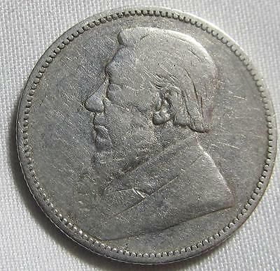 South Africa 1892 Silver 1 Shilling