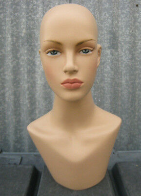 LESS THAN PERFECT MN-322 Female Mannequin Head Form Display with Neck Bust