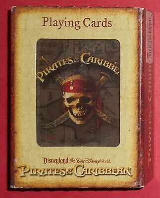 Disney Parks - Pirates Of The Caribbean Playing Cards - New In Package