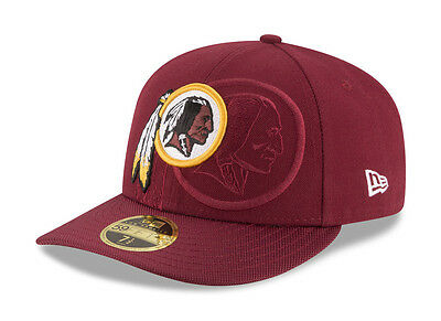 3d06dcbd WASHINGTON REDSKINS RED New Era NFL 2016 Sideline 59FIFTY Fitted Hat ...