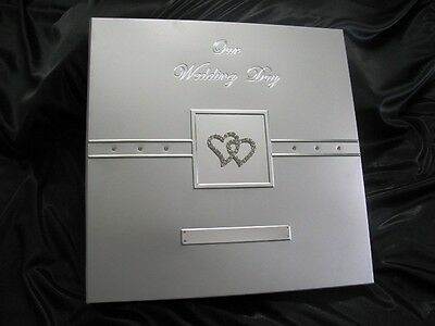 """Top Quality Wedding Photo Album with """"bling"""""""