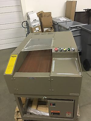Allegheny 16-105cp Industrial Commercial Straight Cut Shredder with Conveyor