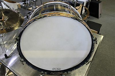 "Vintage Ludwig 20"" x 12"" Bass Drum in ""Gold / Blue Duco"""
