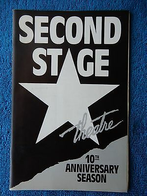 Shimmer - Second Stage Theatre Playbill - June 1988 - John O'Keefe
