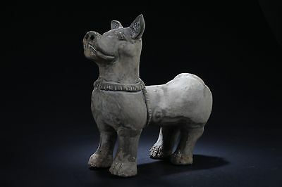 Antique Chinese Pottery Statue