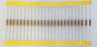 25pcs 470 Ohm (470R) 0.5W Carbon Film Resistor 5% Flameproof
