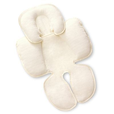 Baby Head Support Car Seat Stroller Infant Pillow Neck Travel Safety Body Ivory