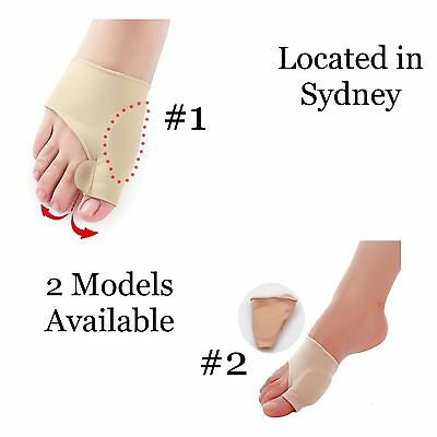 1 Pair Toe Bunion Splint Straightener Corrector Hallux Valgus Foot Size Small