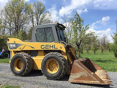 2006 Gehl 7810 Skid Steer Loader Skidloader Enclosed Cab. Big Machine!! 110 Hp