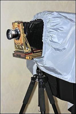 Dark Cloth Focusing Hood For 4X5 5X7 Large Format Camera Wrapping 130cm