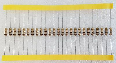 25pcs 100 Ohm (100R) 0.5W Carbon Film Resistor 5% Flameproof
