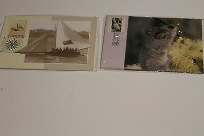 1992 Maxi Cards Australia Day, Threatened Species Inc Postage Prepaid