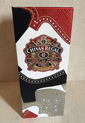 CHIVAS REGAL Empty Tin Box Limited Edition By TIM LITTLE Blended Whisky 12 Years