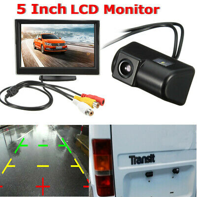 for Ford Transit Connect Van 5'' Monitor & CCD Rear Reversing Reverse camera kit